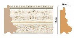 Декоративный багет для стен Декомастер Ренессанс 229-182