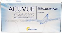 Контактные линзы Acuvue Oasys with Hydraclear Plus 6 линз