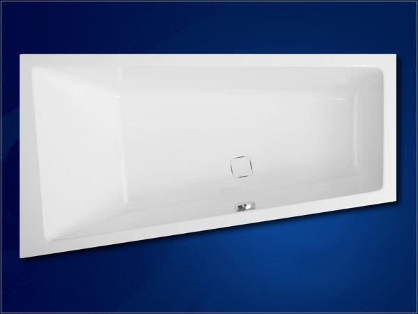 Акриловая ванна Vagnerplast Cavallo asymetric 160 левая
