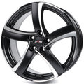 Alutec Shark 7,0x16 5/112 ET38 d-70,1 Racing Black Front Polished (SH70638B73-5) - фото 1