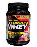 100% Pure Titanium Whey 897 гр - 2 lb (SAN) банан-кокос