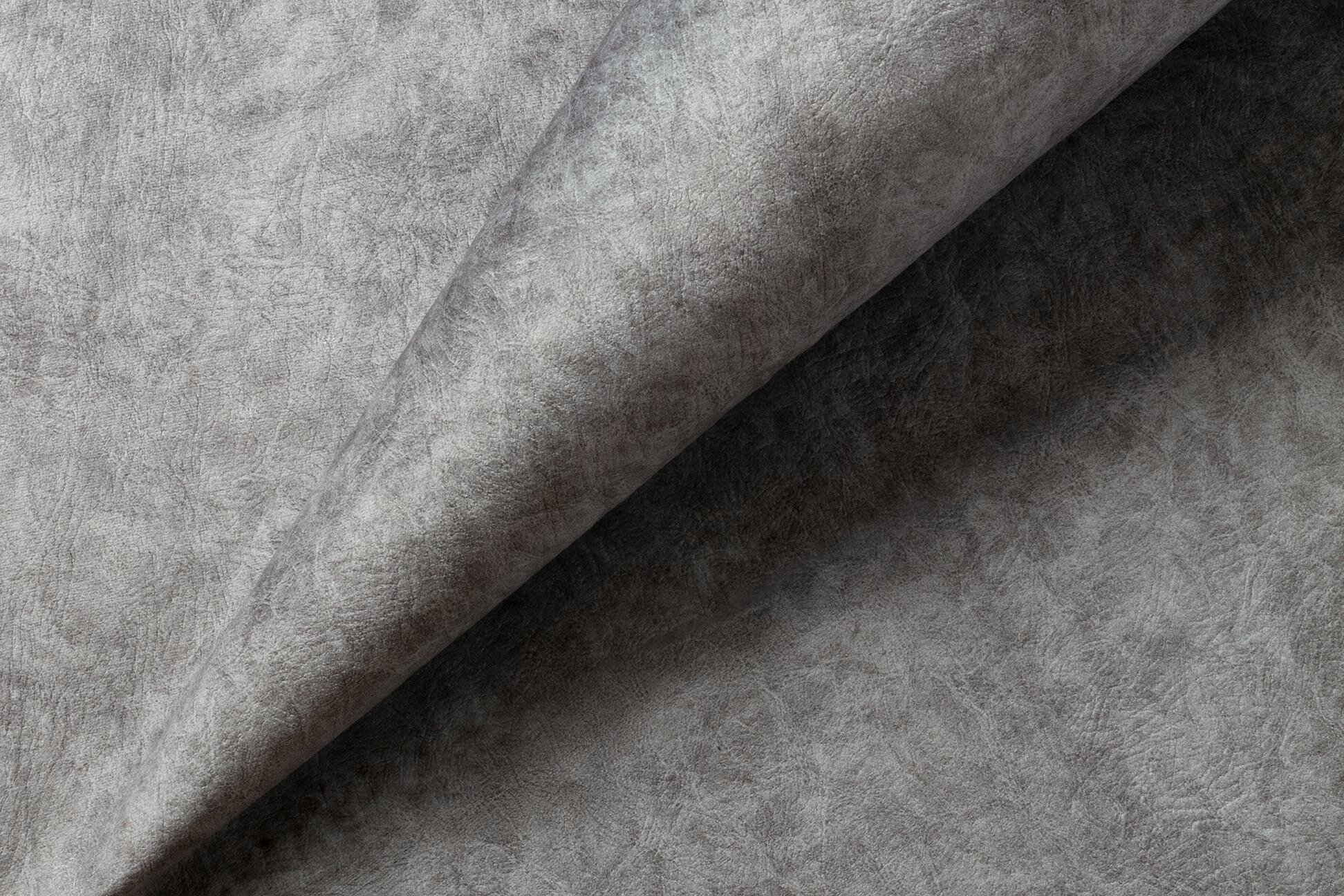 Ткань мебельная велюр BLISS, Блисс 12 (т.сер)