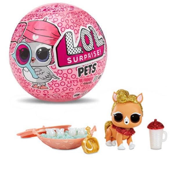 Кукла ЛОЛ Питомцы 4 серия Decoder Шпионы LOL Pets Surprise MGA Entertainment