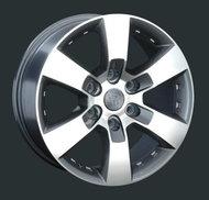 Диски Replay Replica Toyota TY83 7.5x17 6x139,7 ET25 ЦО106.1 цвет GMF - фото 1