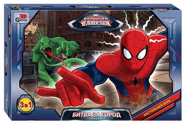 Настольная игра, Step puzzle, Marvel Битва за город 76544