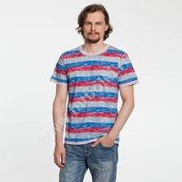 Футболка мужская Rayet двусторонняя, красная с синим