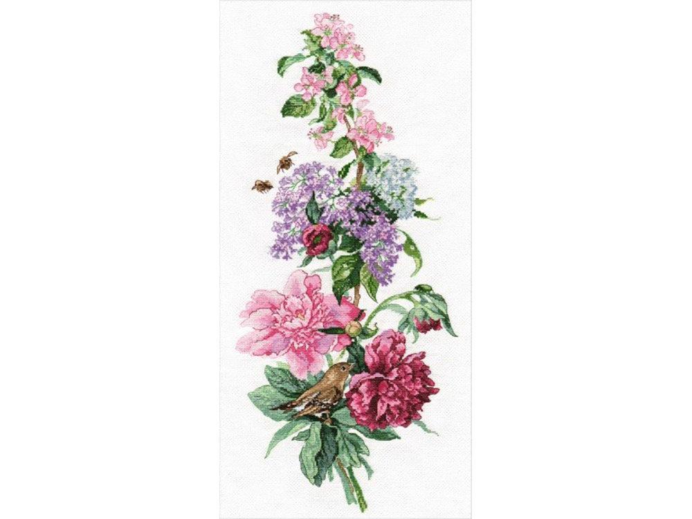 Набор для вышивания Овен Цветочная композиция