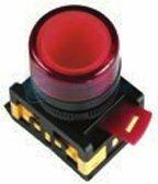 IEK Лампа AL-22TE сигнальная красная с подсветкой неон 240В (BLS30-ALTE-K04)