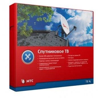Комплект Спутниковое ТВ МТС с ресивером EKT DSD 4404, антенной 0,6 м, конвертором, подпиской на 12 мес.