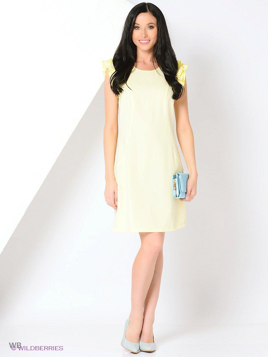 Платье GiuliaRossi 12-398/1/Желтый