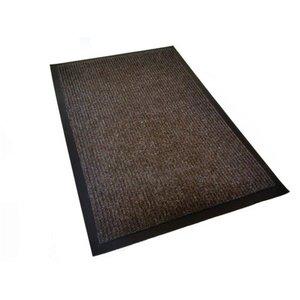 """Коврик входной влаговпитывающий """"Комфорт"""", 60х90 см, коричневый"""