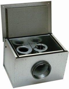 Systemair KVK DUO 315L Шумоизолированный вентилятор