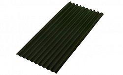 Битумный волнистый лист (еврошифер) Onduline Smart Зеленый