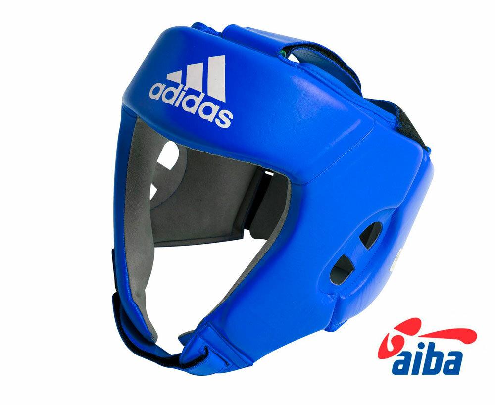 Шлем боксерский AIBA синий (размер XL)