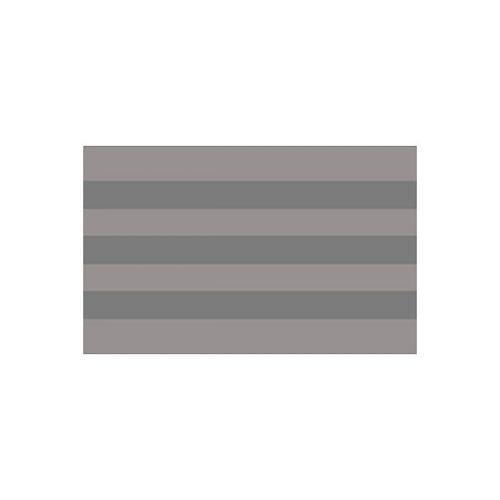 Порог для ступеней прорезиненный Идеал, 32х16, цвет 006 Темно-серый