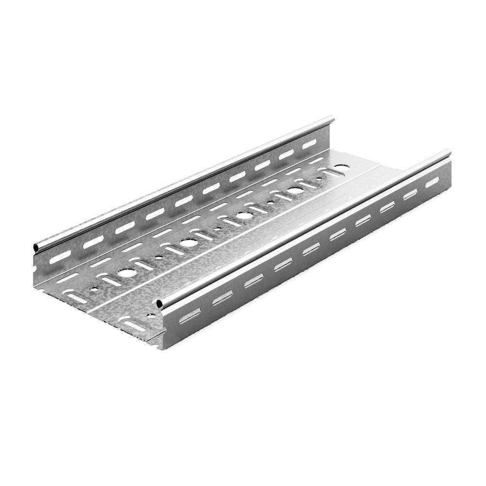 Металлический лоток DKC стандартный перфорированный 100х80х2000 (ШхВхД) толщина: 07 мм сталь м. Сендзимира