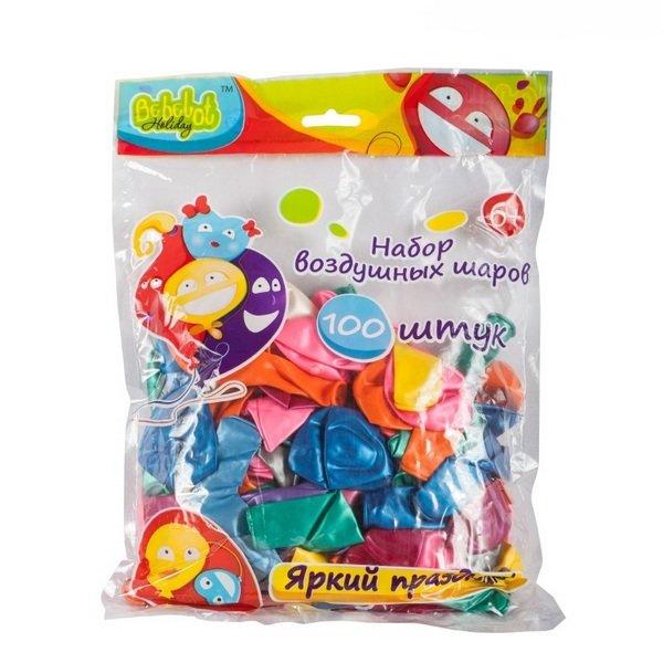 Воздушные шары Bebelot bho1705-016 набор шаров 100шт 25см