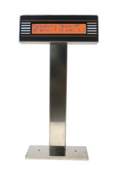 Дисплей покупателя ШТРИХ-T D2-USB-MN (нержавейка) (USB)