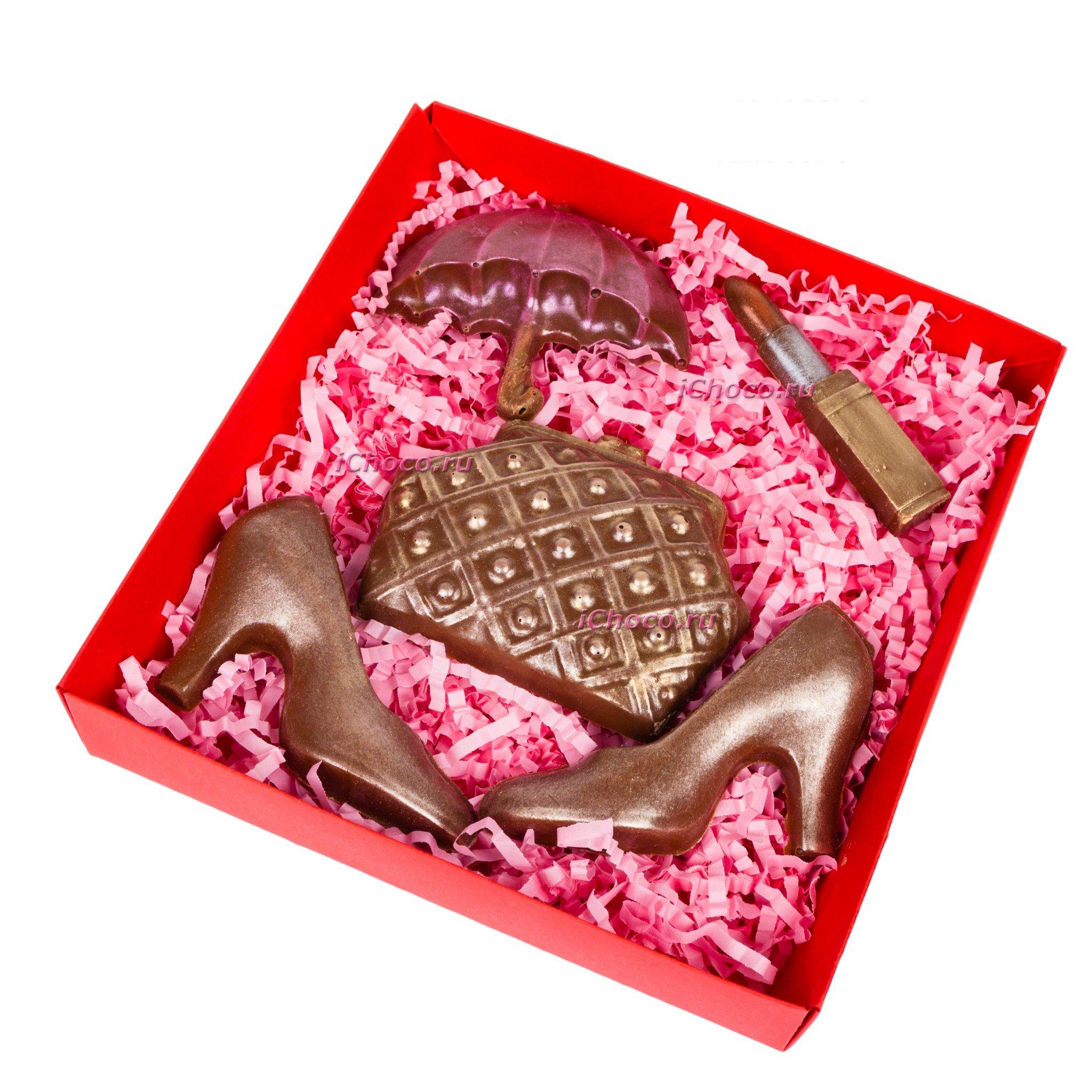"""Шоколад ручной работы """"Шоколадный Набор стандарт """"Женский"""" № 3"""""""