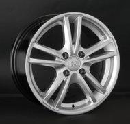 Диски LS Wheels NG236 6,5x15 4x100 D73.1 ET38 цвет HP (насыщенный серебристый) - фото 1