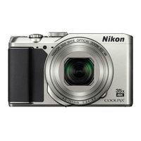 Компактный фотоаппарат Nikon CoolPix A900 серебристый (VNA911E1)