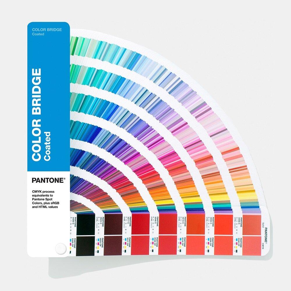 Цветовой справочник Pantone Color Bridge Guide Coated 2019