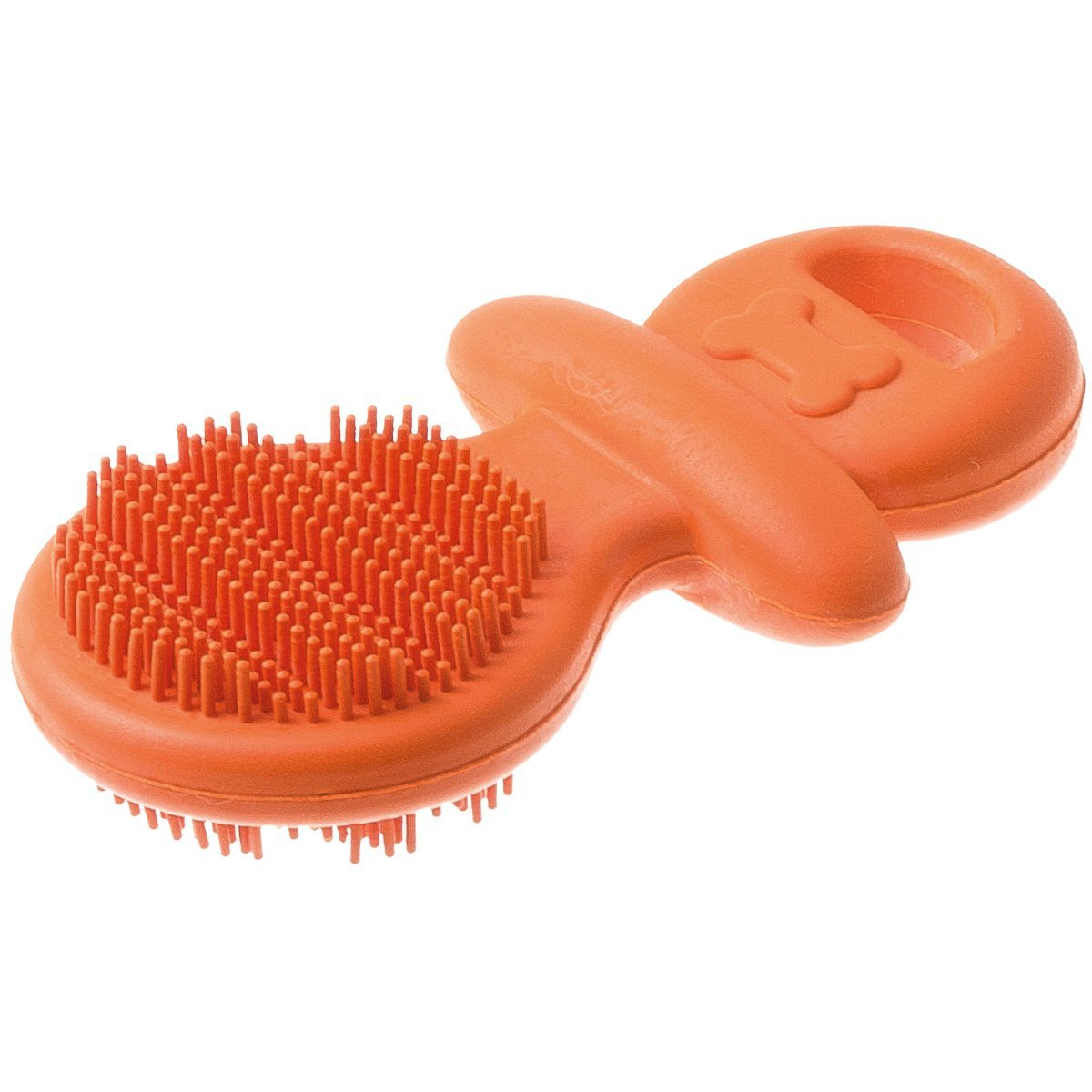 """V.I.Pet Игрушка резиновая для чистки зубов """"Соска"""", 9см, Pet Line 13111"""