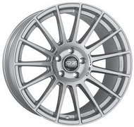 Диск OZ Racing Superturismo Dakar Matt Race Silver Black Lettering 8.5x20/5x114.3 D79 ET40 - фото 1
