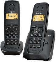 Радиотелефон Gigaset A120 Duo (черный)