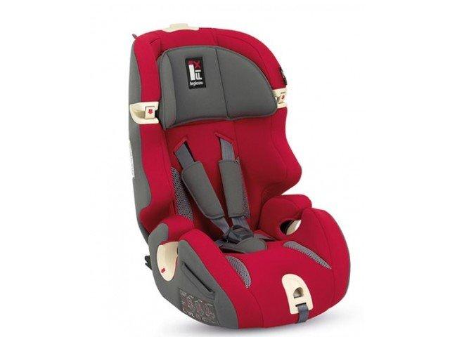 от 9 до 36кг (группа 1-2-3) Автокресло Inglesina Prime Miglia i-Fix (9-36 кг) Red [AV97E0RED]