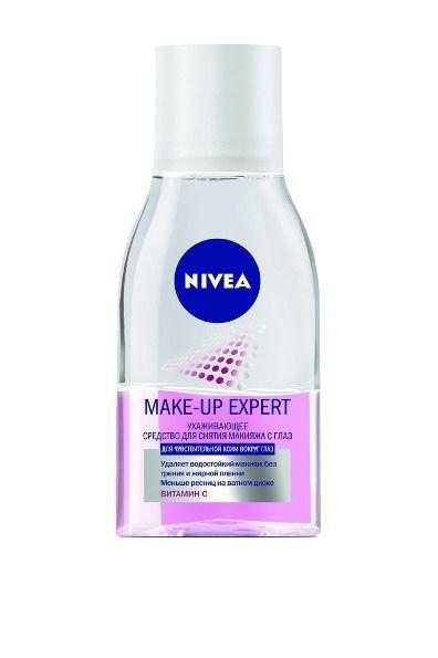Средство Nivea для снятия макияжа с глаз make-up expert, 125 мл