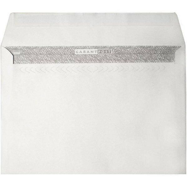 """Конверт почтовый """"Garantpost"""", C4 (229x324 мм), белый, стрип (250 штук)"""