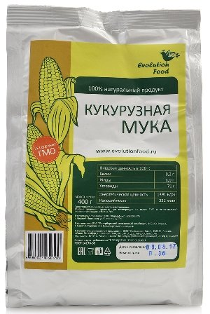 Мука кукурузная Evolution Food