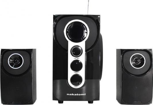 Компьютерная акустика Колонки Nakatomi GS-32 2x15Вт+30Вт черный