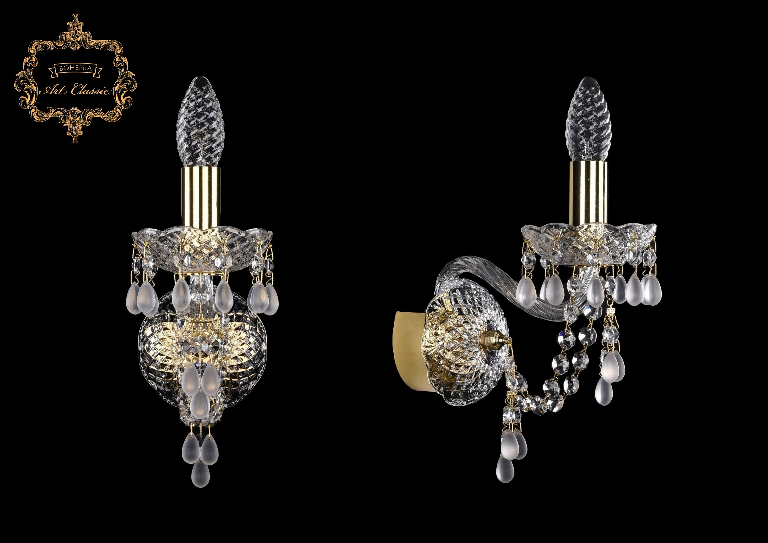 Настенный светильник Bohemia Art Classic 10.24.1.141.Gd.V0300 11.24
