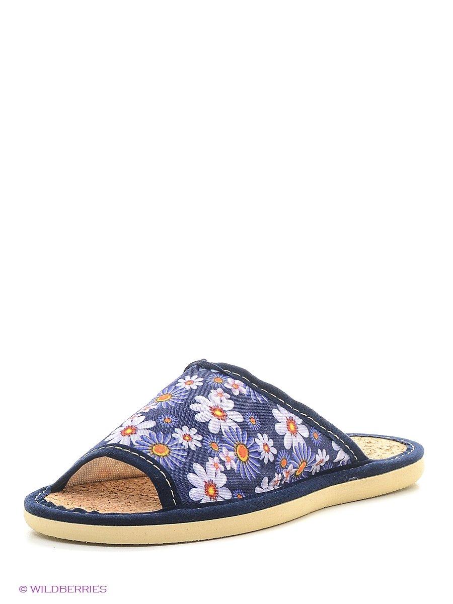 Тапочки ШК обувь Д-1-1/синий