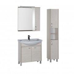 Комплект мебели Aquanet Донна 80 белый дуб