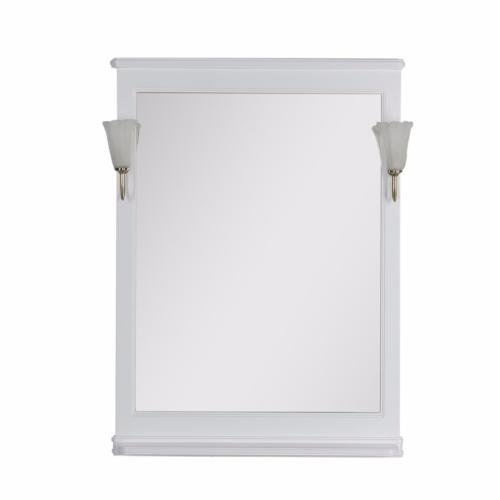 Aquanet Зеркало Валенса 80 (180151) белое матовое