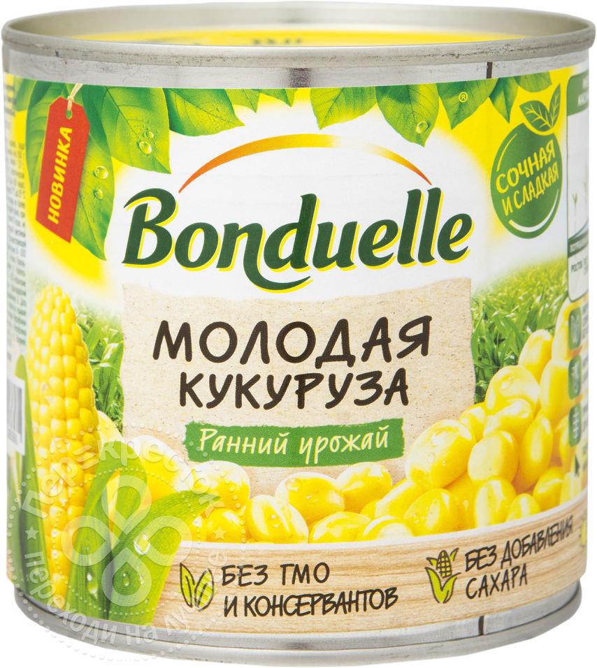 Кукуруза Bonduelle Молодая сладкая 340г