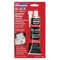 """Абро Герметик прокладок """"черный"""" высокотемперат. 85г"""