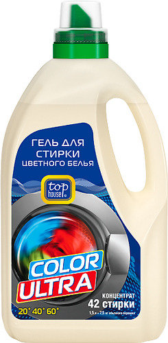 Концентрированный гель для стирки TOP HOUSE Color 391107