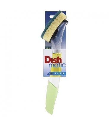 Губка для посуды с ручкой-дозатором, 24,5 см, Dishmatic