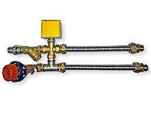 Смесительный узел фанкойла 3/4 с электроприводом Профи General Climate