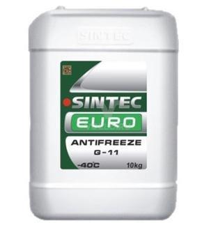Антифриз Sintec Euro G11 (зел) 10кг