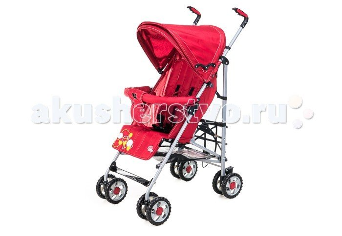 Коляска-трость Liko Baby BT109 City Style Красный