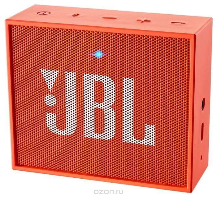 JBL GO, Orange портативная акустическая система