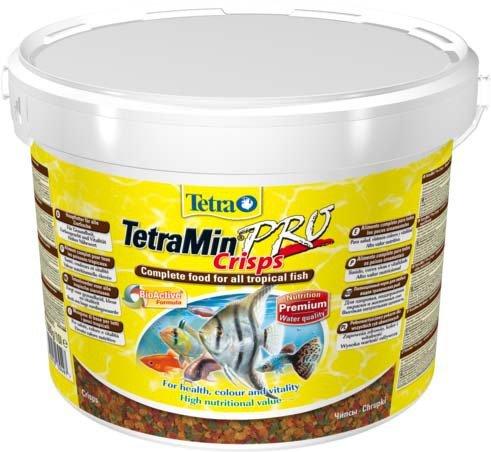 """Корм для всех видов рыб """"Tetra Min Pro Crisps"""" (чипсы), 10 л"""
