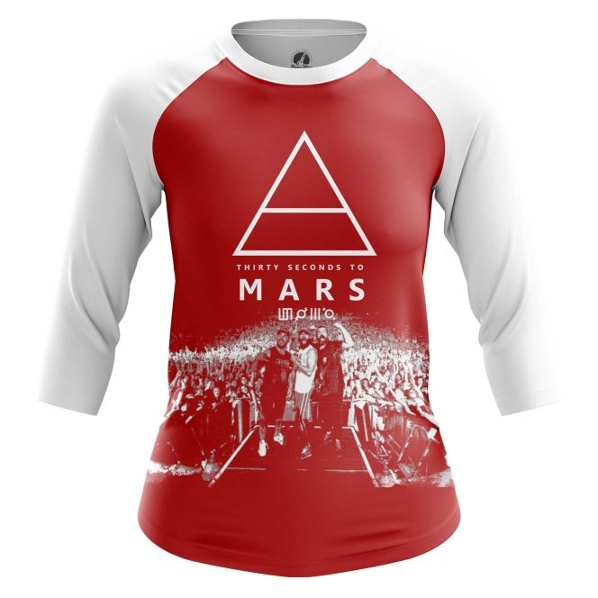 Реглан 3/4 teestore Музыка 30 Seconds to Mars