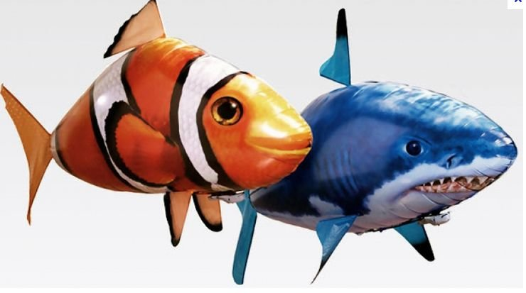 Интерактивная игрушка Air Swimmers Акула