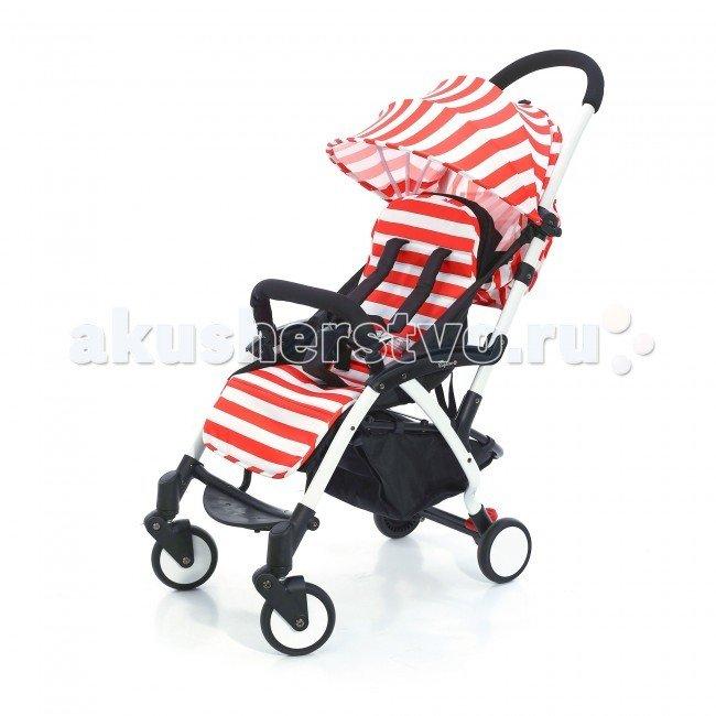 Прогулочная коляска Esspero Summer Lux Red Stripe